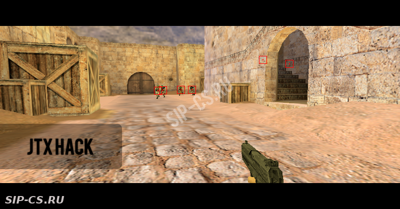Чит JTX HACK [ESP BOX] для counter-strike 1.6, Читы cs 1.6