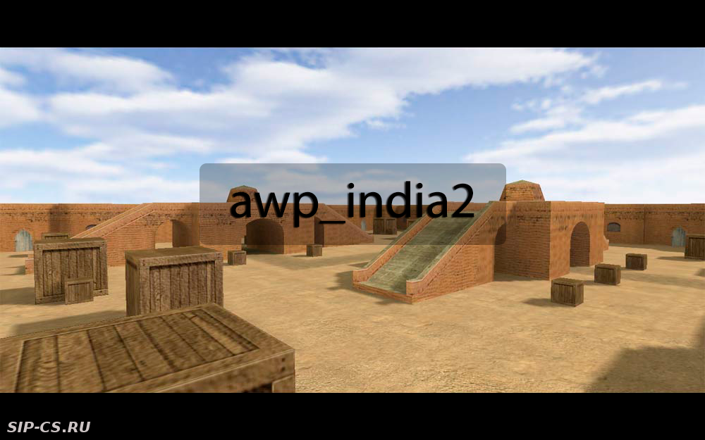 Карта awp_india2 counter-strike 1.6, Карты cs 1.6